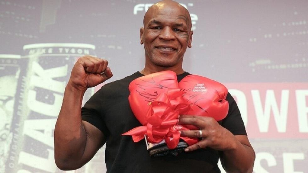 الملاكم الأسطوري مايك تايسون
