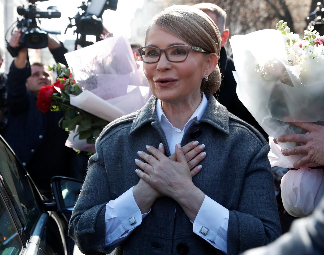 رئيسة وزراء أوكرانيا السابقة أوصلت بجهاز تنفس اصطناعي
