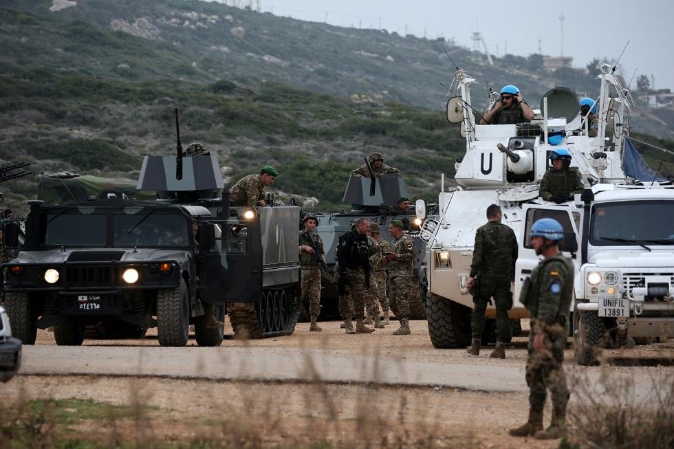 قوات اليونيفيل التابعة للأمم المتحدة في جنوب لبنان