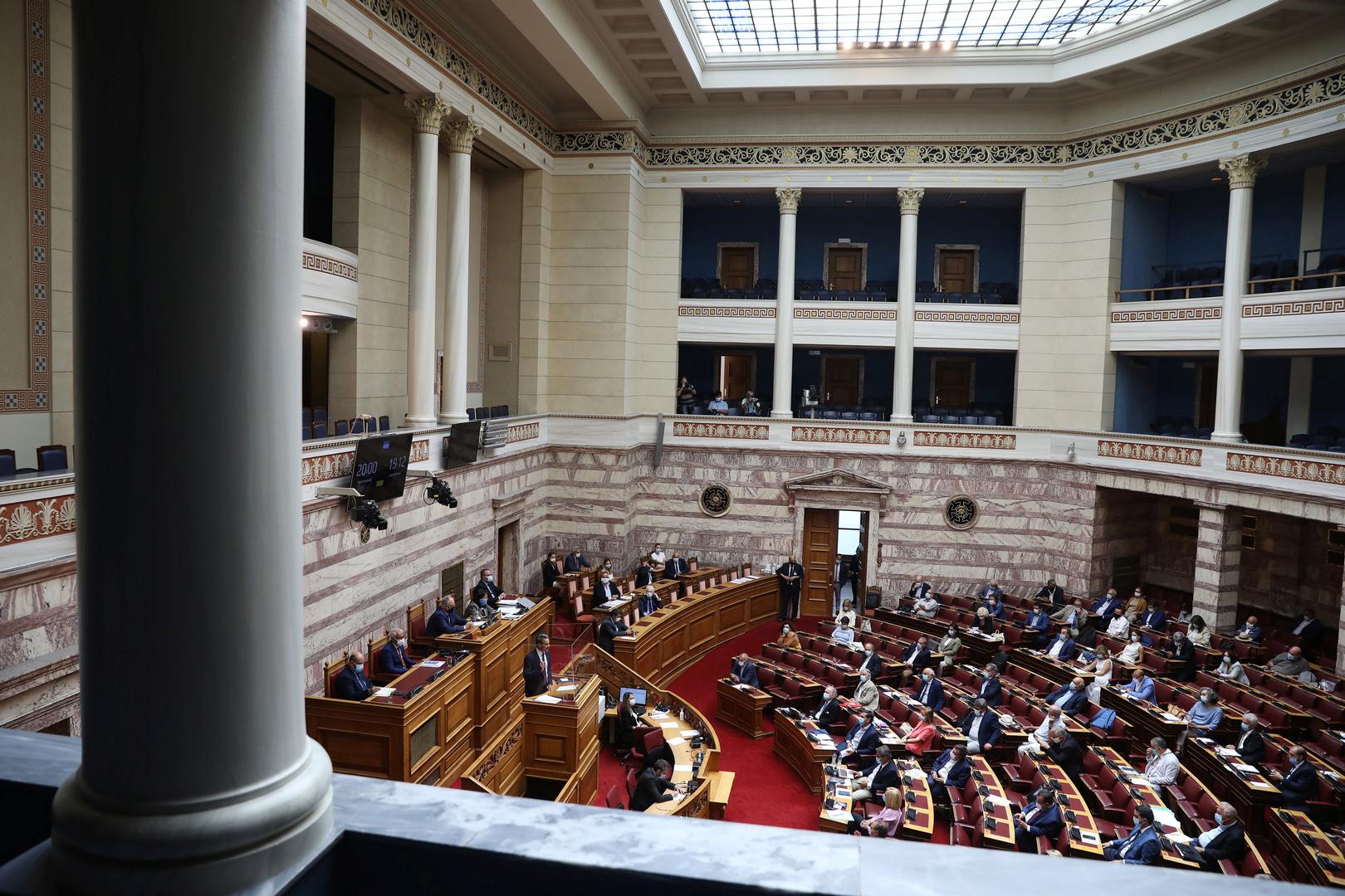البرلمان اليوناني يصوت الخميس بشأن اتفاق ترسيم الحدود مع مصر وسط معارضة تركيا