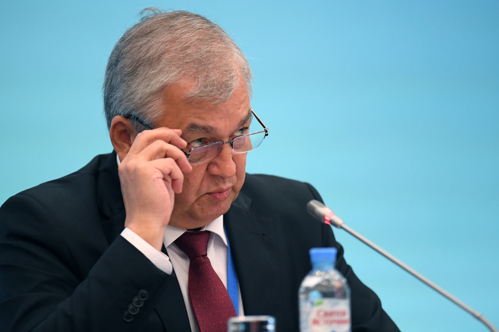 مبعوث الرئيس الروسي إلى سوريا، ألكسندر لافرينتيف.