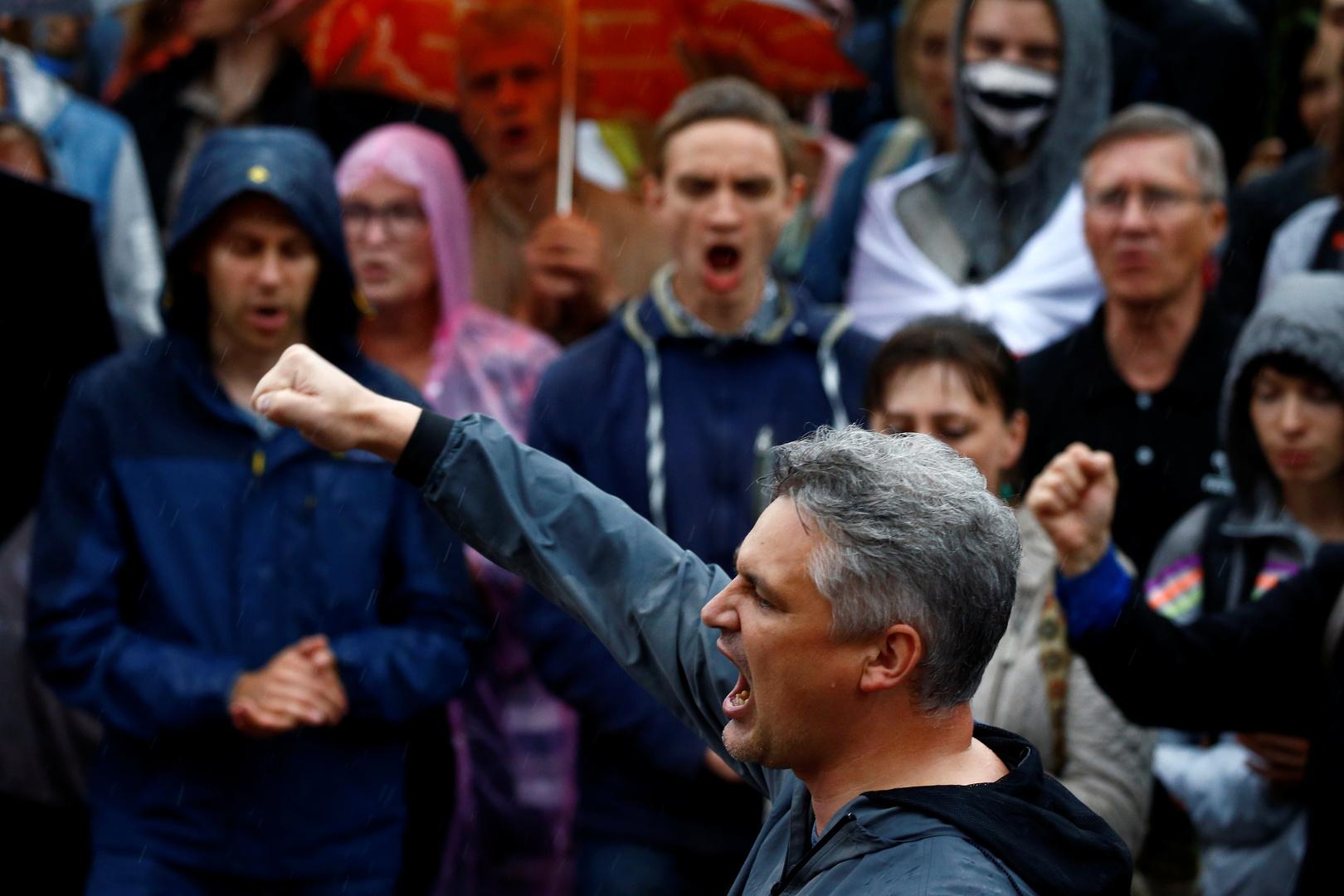 محتجون في مينسك على إعادة انتخاب لوكاشينكو