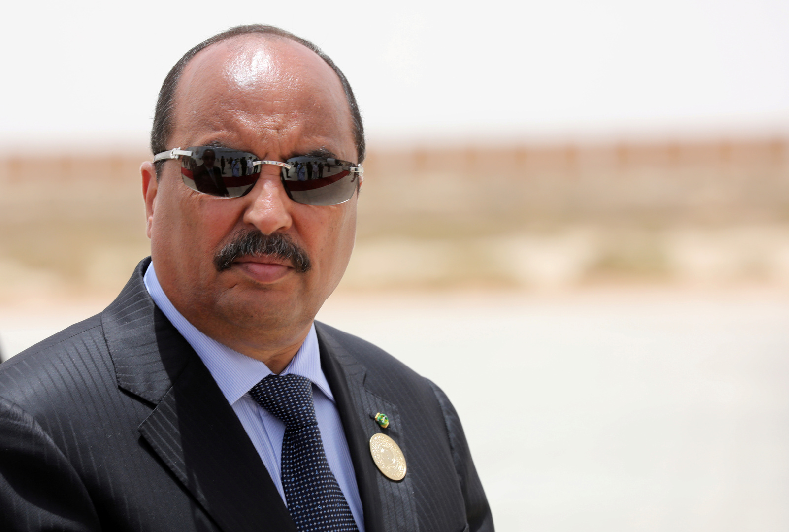الرئيس الموريتاني السابق محمد ولد عبد العزيز، أرشيف