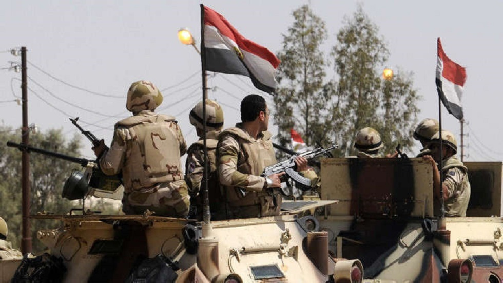 عناصر من قوات الأمن المصرية.