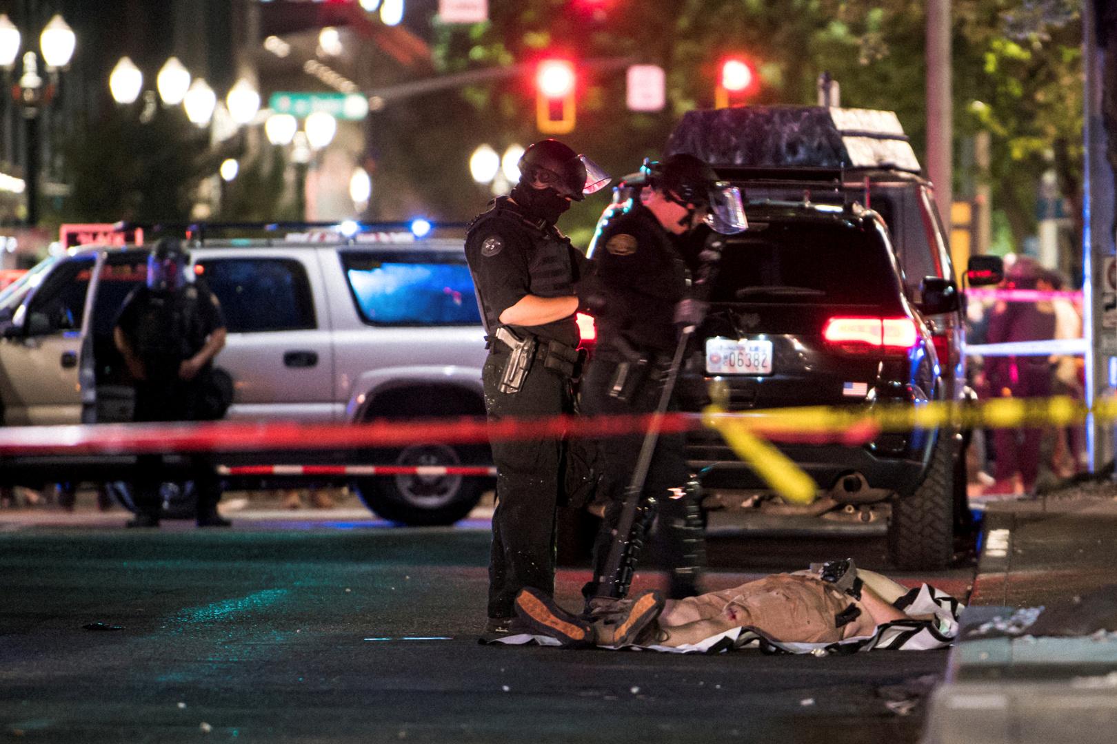 ترامب وبايدن يتبادلان اتهامات إثارة العنف في المدن