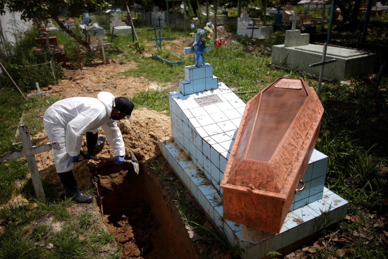 البرازيل.. حصيلة إصابات كورونا تتجاوز الـ3.9 مليون حالة