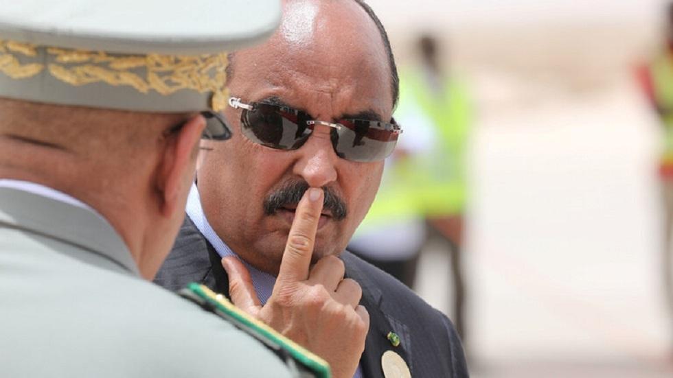 الرئيس الموريتاني السابق، محمد ولد عبد العزيز