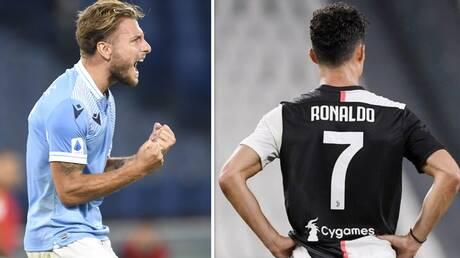 بعد تأكيد غياب رونالدو.. إيموبيلي يضمن التتويج بلقب هداف الدوري الإيطالي والحذاء الذهبي الأوروبي