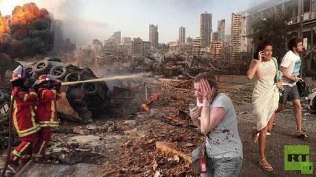 السفارة المصرية تعلن وفاة مصري وفقدان آخرين في انفجار بيروت