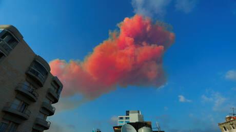 وسائل إعلام: انفجار بيروت سمع في قبرص