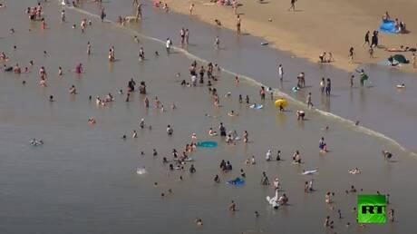 موجة حر غير مسبوقة تضرب بريطانيا