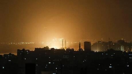 قصف جوي ومدفعي إسرائيلي على مواقع في قطاع غزة
