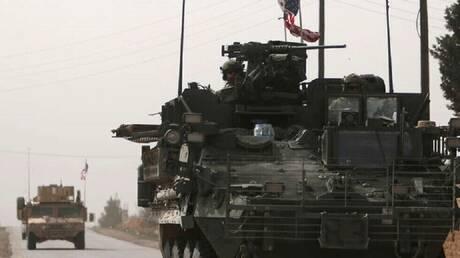 مدرعة عسكرية أمريكية في سوريا (9 مارس من العام 2017).
