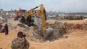 وزارة الصحة اللبنانية: هناك أكثر من 60 مفقودا جراء انفجار بيروت