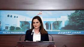 لبنان.. استقالة وزيرة الإعلام من الحكومة