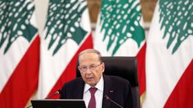 الرئاسة اللبنانية: عون يعتبر المطالبة بتحقيق دولي في قضية انفجار المرفأ تضييع للوقت