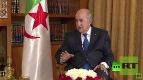 الرئيس الجزائري يأمر بإعادة النظر في اتفاق الشراكة مع الاتحاد الأوروبي