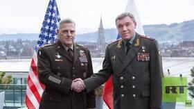 اتصال بين رئيسي الأركان الروسي والأمريكي بعد إصابة جنود أمريكيين في سوريا بسبب احتكاك بين الجانبين
