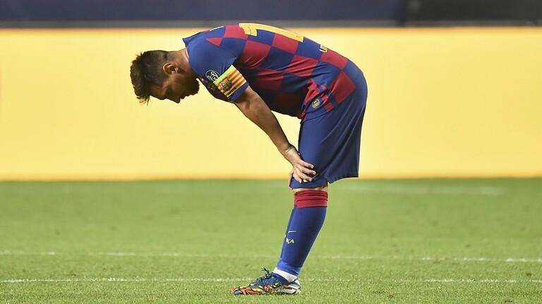 ميسي يترك برشلونة وشأنه لفترة