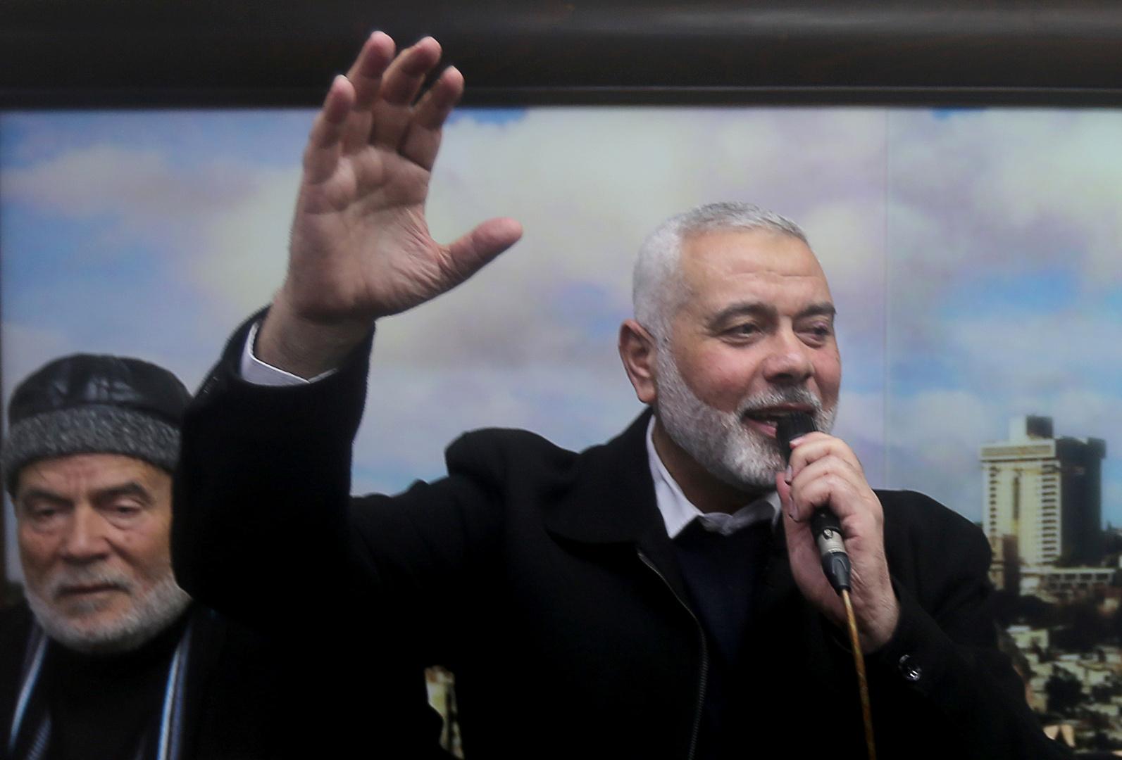 إسماعيل هنية يصل إلى لبنان