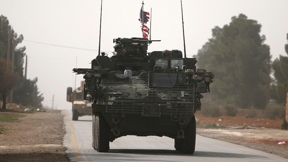 سانا: دخول قافلة عسكرية أمريكية جديدة إلى سوريا من العراق