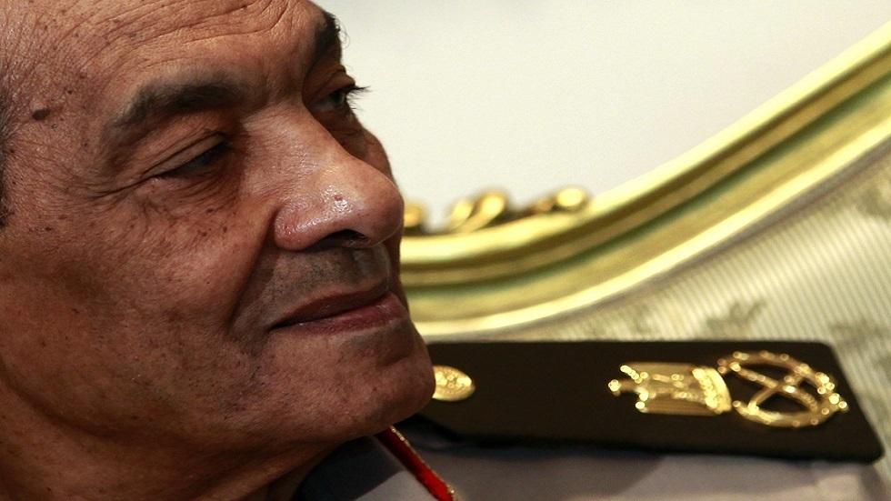 المشير حسين طنطاوي رئيس المجلس الأعلى للقوات المسلحة المصرية ووزير الدفاع الأسبق