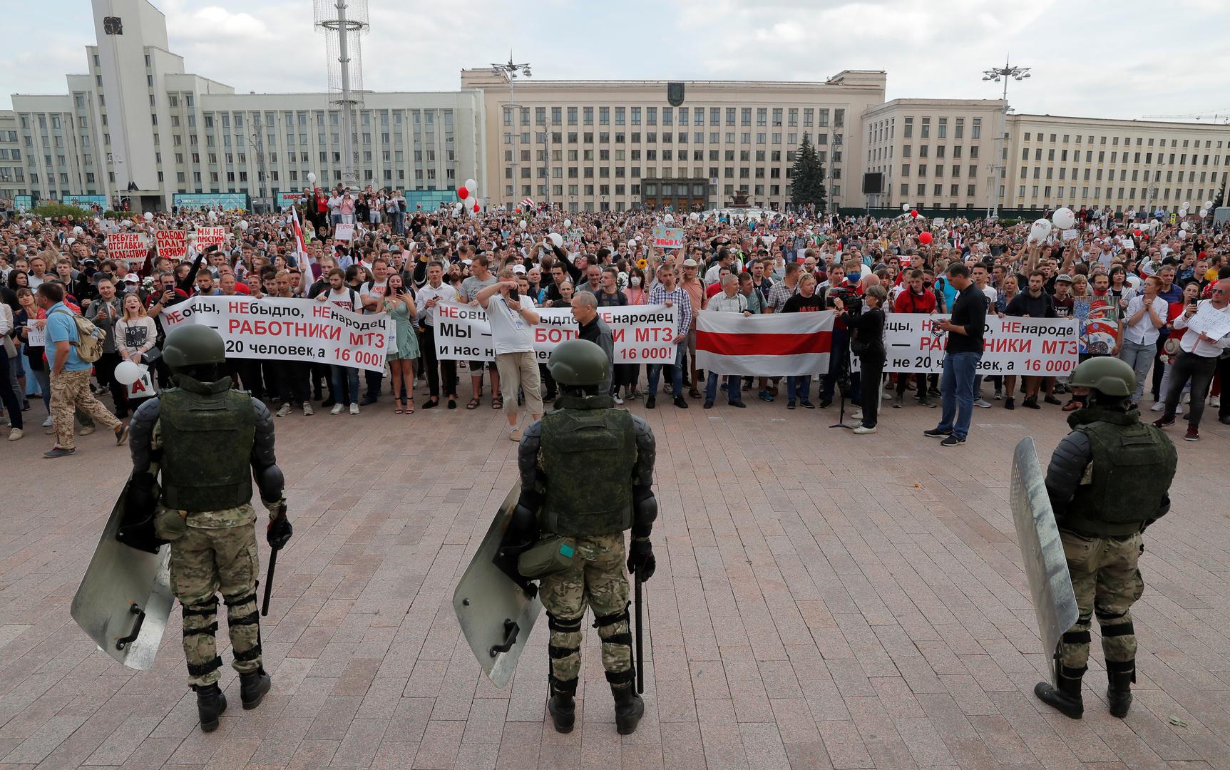 رئيس الوزراء الروسي يتوجه إلى بيلاروس ولقاء بين بوتين ولوكاشينكو قريبا