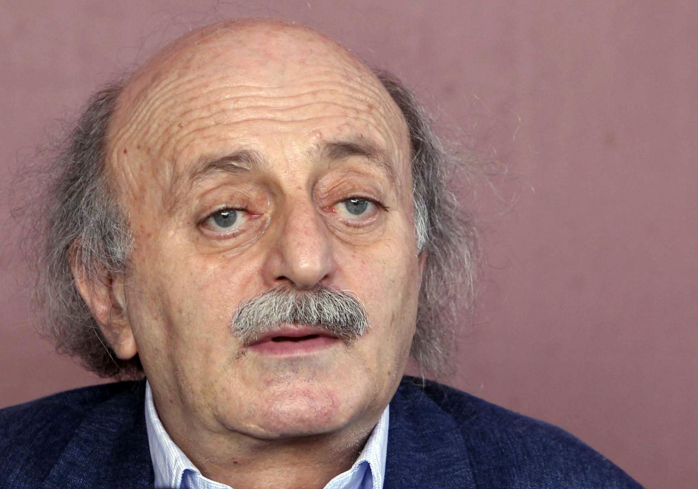 وليد جنبلاط، رئيس الحزب الإشتراكي في لبنان