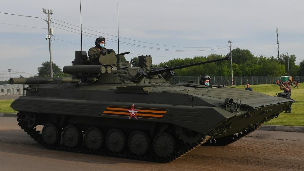 ناقلة الجنود العسكرية الحديثة BMP-2M