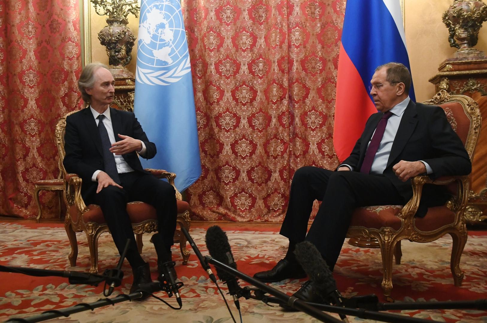 لافروف: دول أستانا تساعد سوريا في استئصال الإرهاب وضمان سيادتها