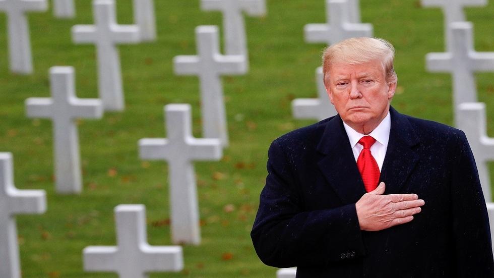 ترامب ينفي وصفه جنودا أمريكيين قتلوا في الحرب العالمية الأولى بـ