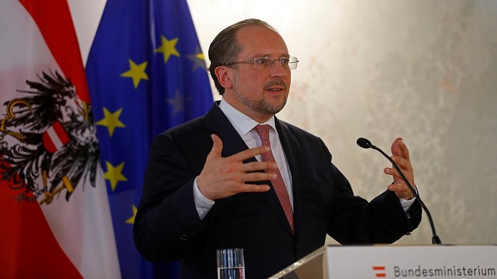 وزير الخارجية النمساوي ألكسندر شالنبرغ