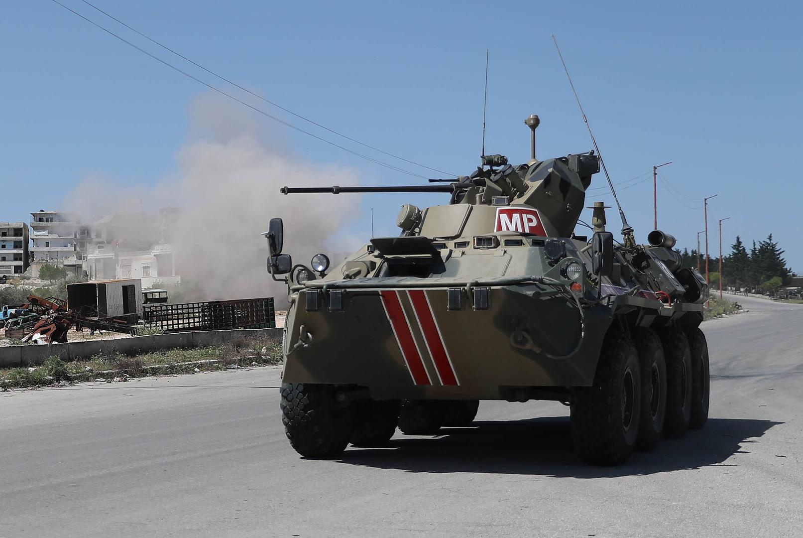 تدريب روسي تركي مشترك في سوريا