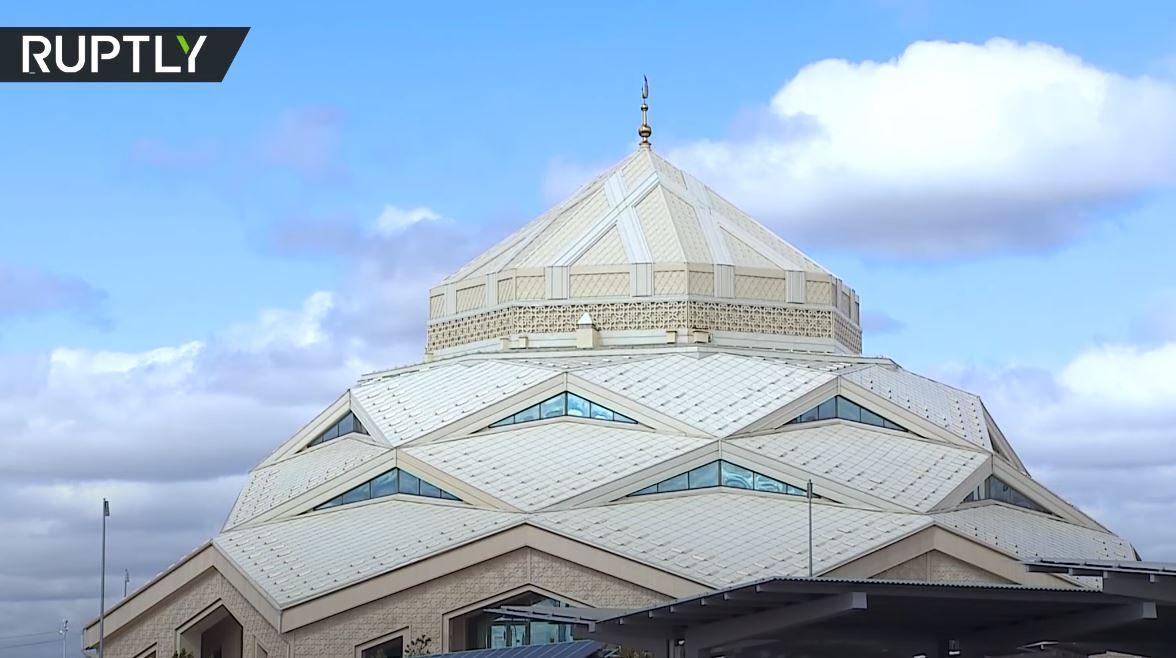 افتتاح أول مسجد صديق للبيئة في كازاخستان
