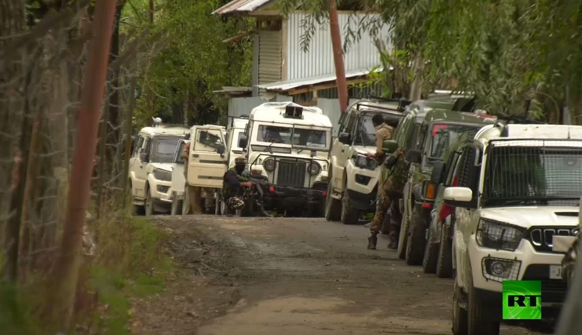 تبادل إطلاق نار بين قوات الأمن الهندية ومتمردين في كشمير