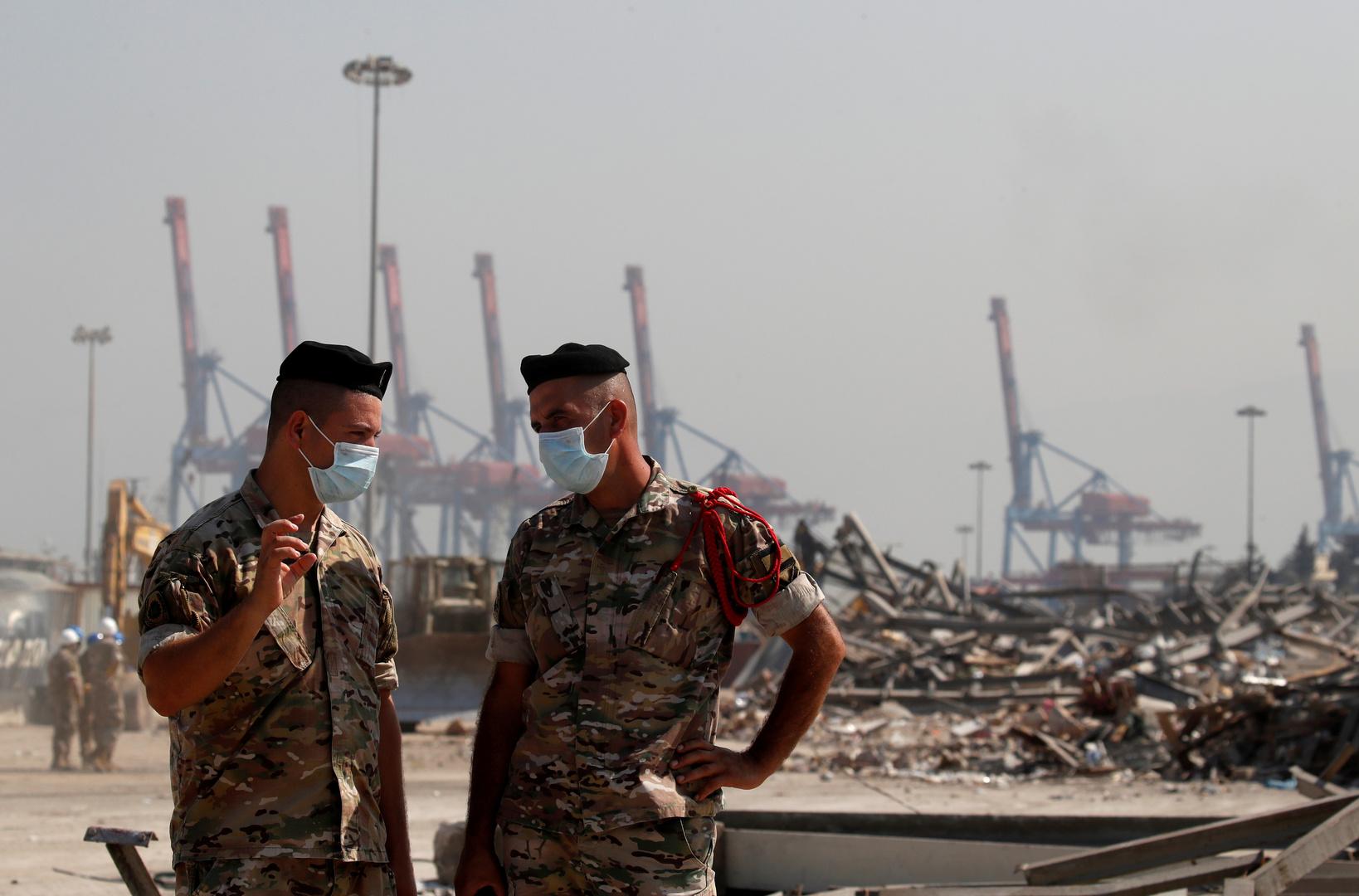 الجيش اللبناني يفجر كميات من