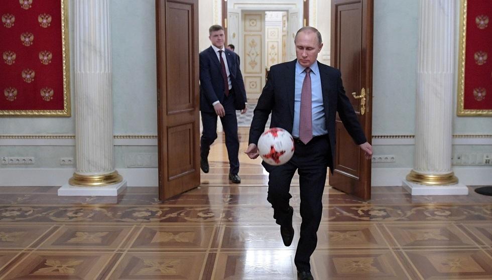 وزير الرياضة الروسي السابق يكشف رد فعل بوتين على هزيمة بلاده أمام البرتغال (1-7)