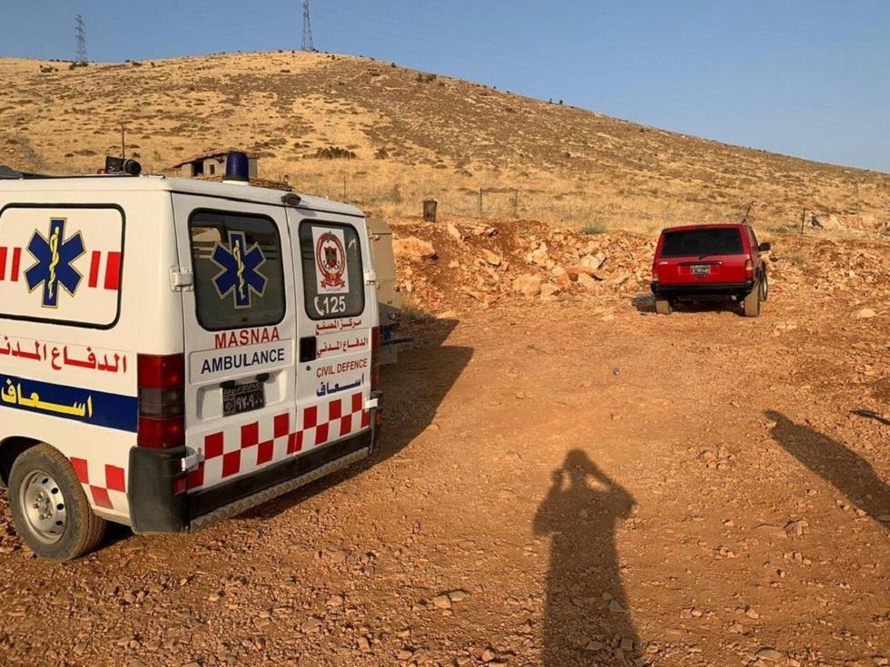 الدفاع المدني اللبناني يعثر على جثة فتاة سورية عند نقطة حدودية