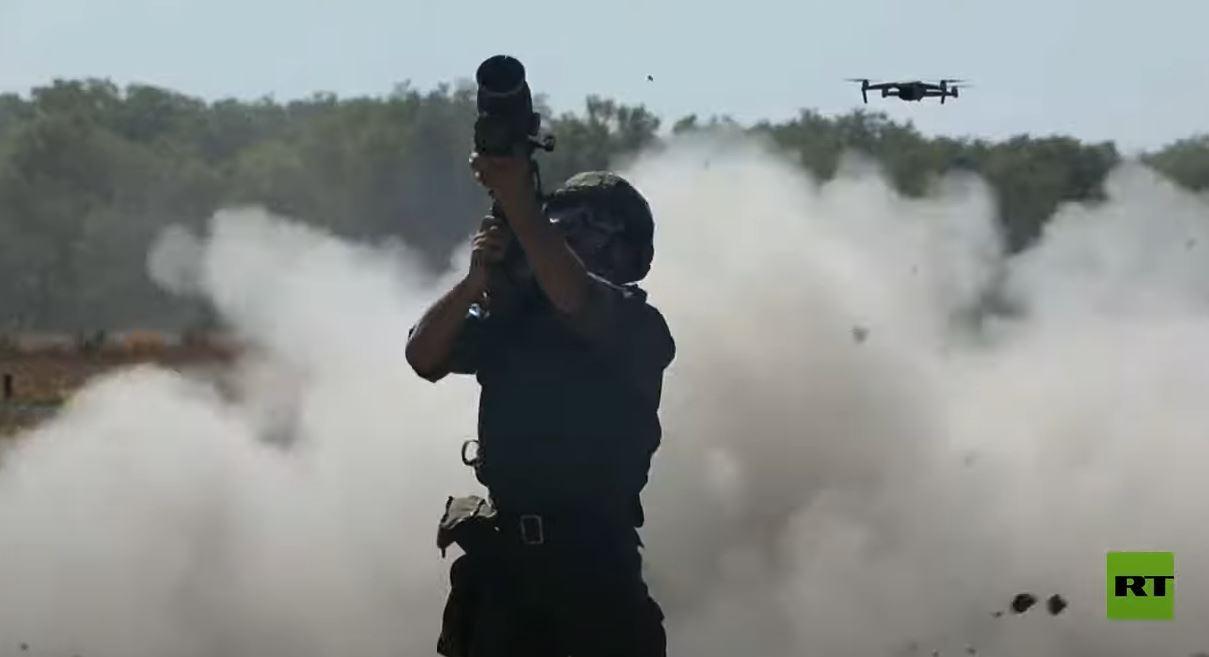 إصابة أهداف من منظومات الدفاع الجوي المحمولة في مسابقة