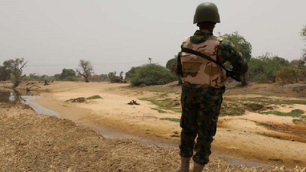 عنصر من جيش نيجيريا - أرشيف -