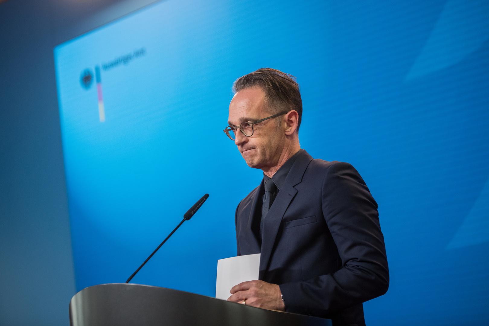 ماس: لا يوجد سبب لدى برلين لعدم تلبية الطلب الروسي بشأن نافالني