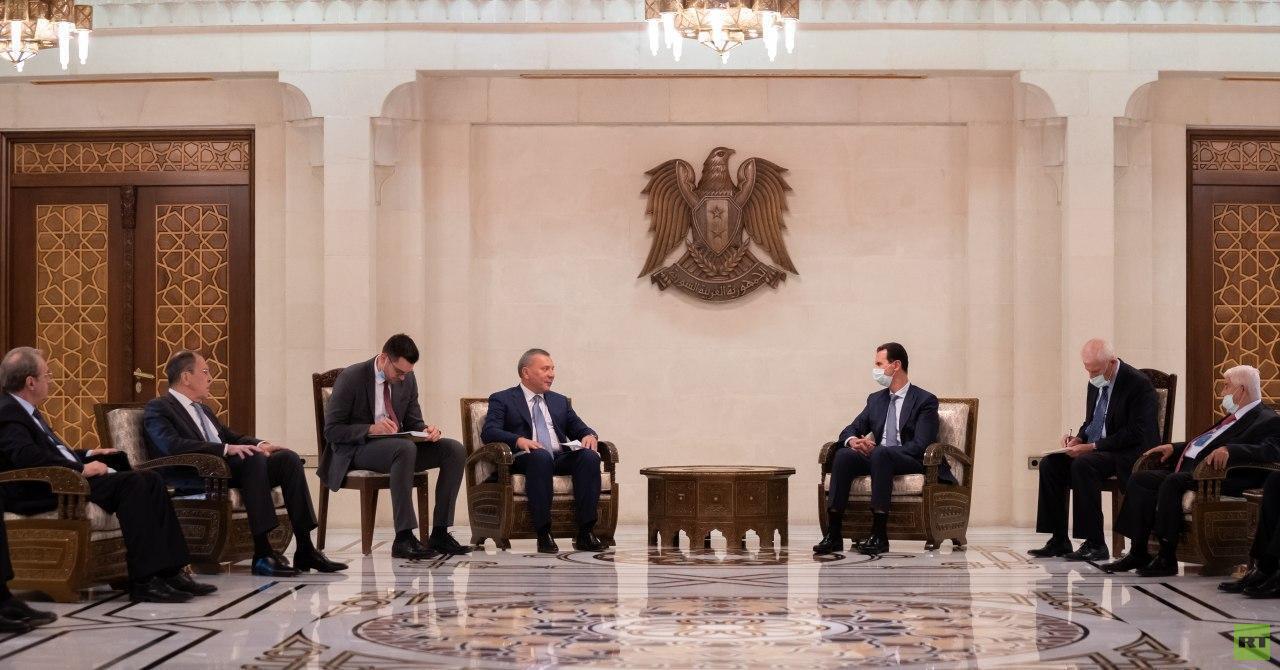 الرئيس السوري يشكر روسيا على مساعدة بلاده في الحرب ضد الإرهاب والدعم السياسي