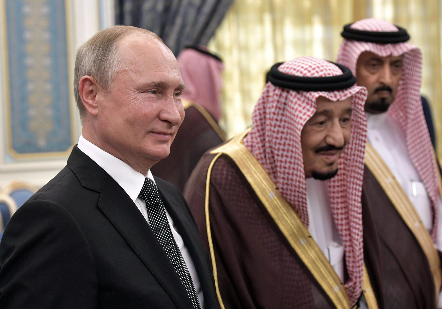 بوتين والملك سلمان يرحبان في اتصال هاتفي بكيفية تنفيذ اتفاق