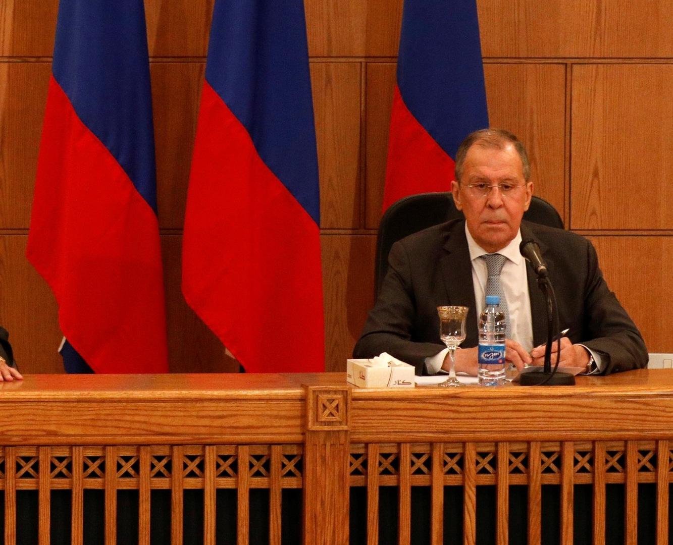 لافروف: التقارير حول استخدام روسيا أراضي سوريا لنقل مرتزقة إلى ليبيا لا تستند إلى أي حقائق