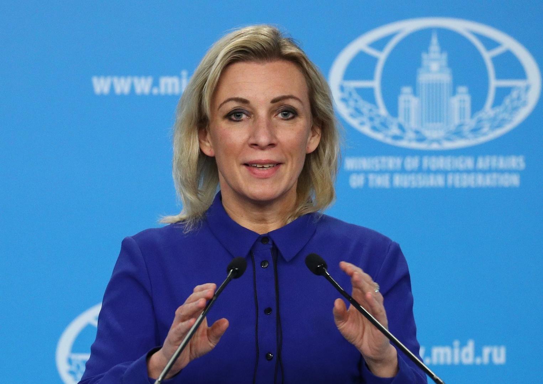 المتحدثة باسم وزارة الخارجية الروسية ماريا زاخارفا