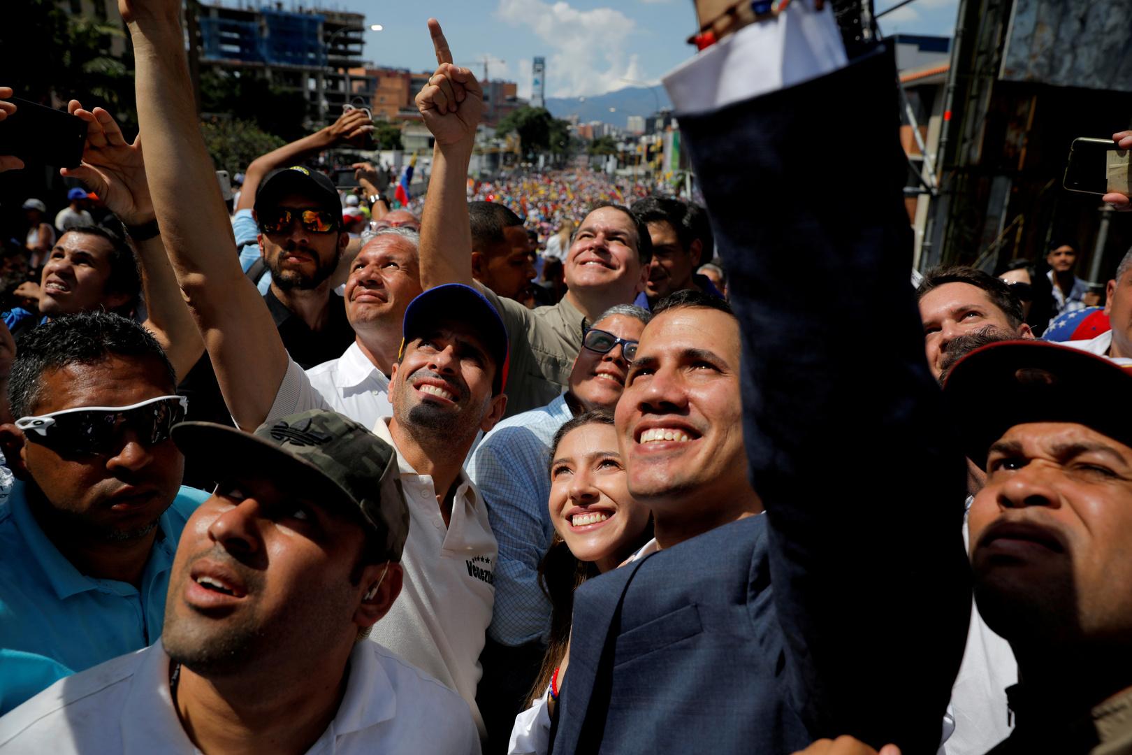 المعارضة الفنزويلية تدعو لزيادة الضغط الدولي على مادورو