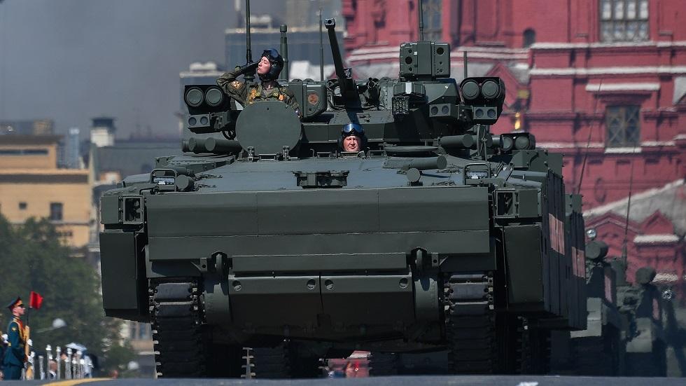 عربات عسكرية روسية من نوع