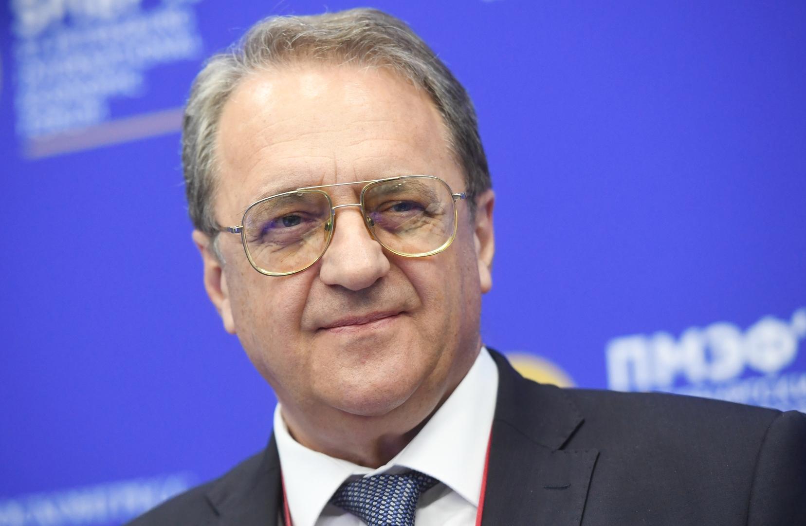 بوغدانوف: نريد فهم خطط الانقلابيين في مالي