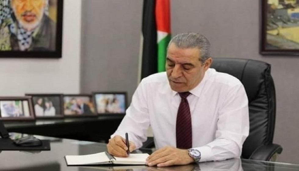 حسين الشيخ عضو اللجنة المركزية لحركة فتح