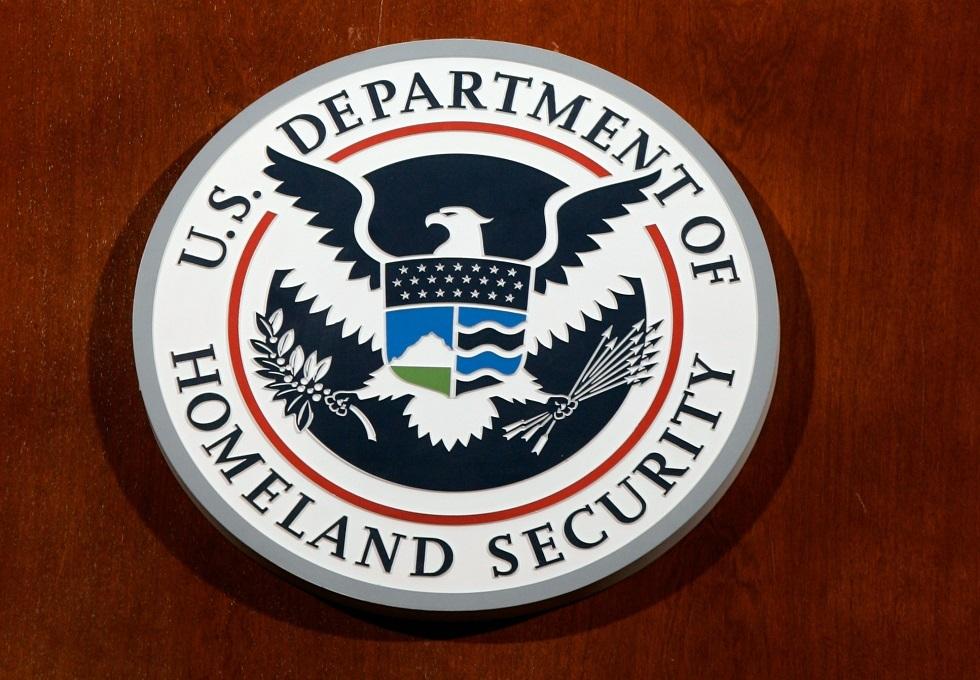 شعار وزارة الأمن الوطني الأمريكية